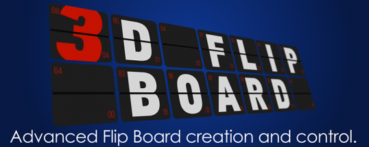 3D Flip Board - Script, Plugin For After Effect