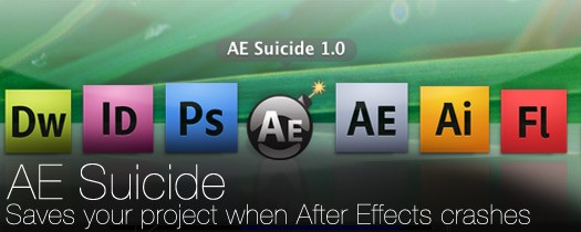 AE Suicide-After Effects Crash Recovery Compatibility After Effects For Mac