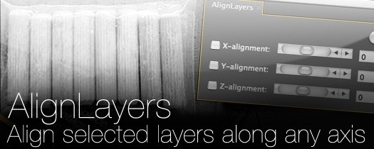 AlignLayers - Script, Plugin For After Effect