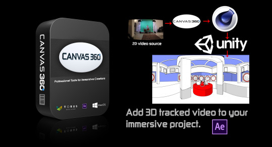 Canvas 360 - Script, Plugin For After Effect