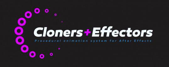 Cloners + Effectors  - Script, Plugin For After Effect