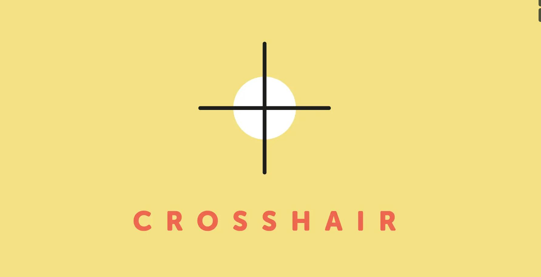 Crosshair - Script, Plugin For After Effect