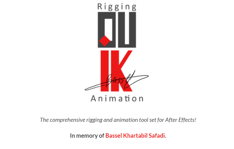 DUIK BASSEL!  - Script, Plugin For After Effect For Win