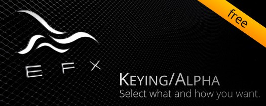 EFX Keying-Alpha Free  - Script, Plugin For After Effect