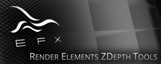 EFX Render Elements Z Depth Tools  - Script, Plugin For After Effect