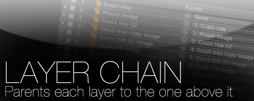 Layer Chain - Script, Plugin For After Effect