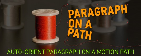 Paragraph on a Path - Script, Plugin For After Effect