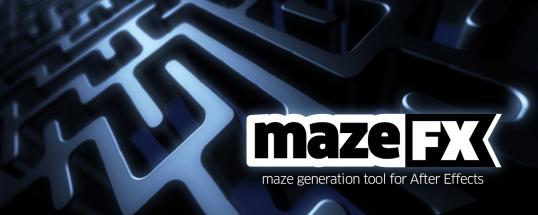 mazeFX - Script, Plugin For After Effect