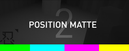Position Matte 2 - Script, Plugin For After Effect