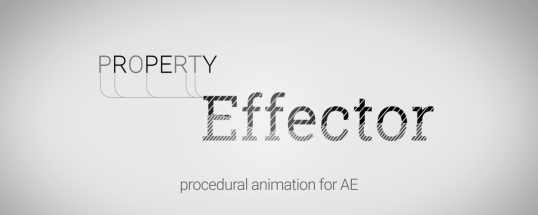 Property Effector - Script, Plugin For After Effect