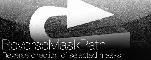 ReverseMaskPath  - Script, Plugin For After Effect