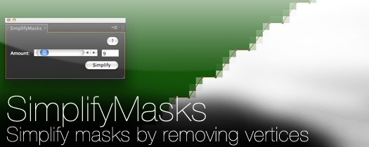 SimplifyMasks - Script, Plugin For After Effect