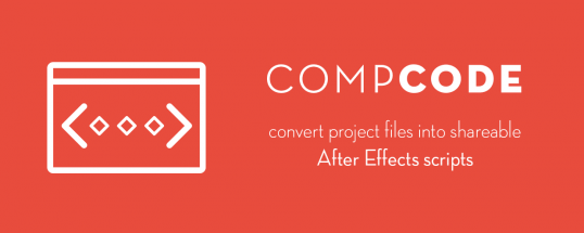 compCode - Script, Plugin For After Effect