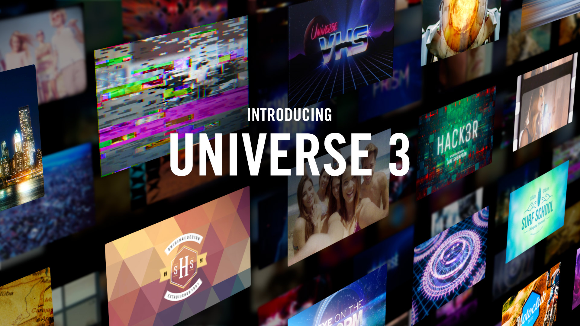 Red Giant Universe 3 (WIN/MAC) - Script, Plugin For After Effect