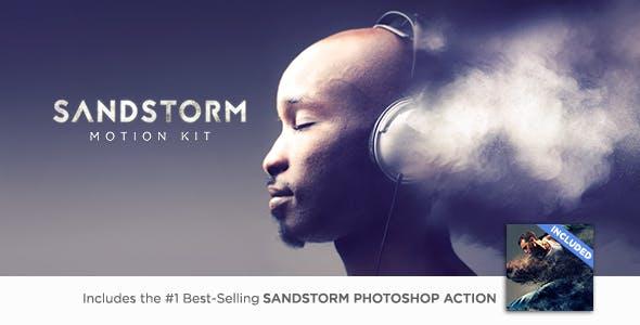 Sandstorm Motion Kit 18437528 - Script, Plugin For After Effect