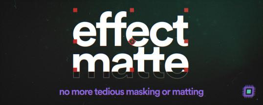Effect Matte 1.2 - Script, Plugin For After Effect For Mac