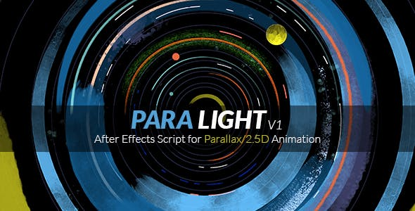 ParaLight | After Effects Script for Parallax/2.5D Animation 17947707 - Script, Plugin For After Effect