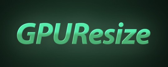 GPUResize 1.2 - Script, Plugin For After Effect For Win