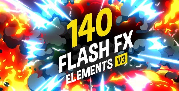 140 Flash FX Elements 11266469 - After Effect Template