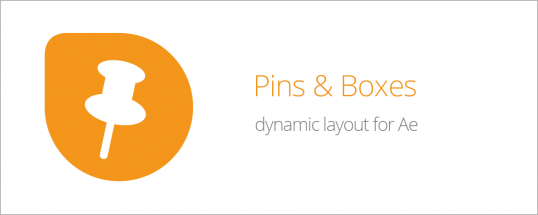 Pins & Boxes 1.1.001 - Script, Plugin For After Effect