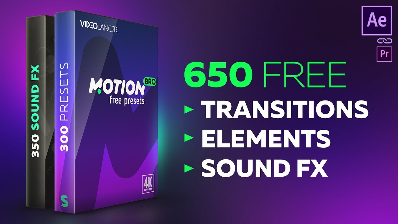 Free Presets For Motion Bro - Script, Plugin For After Effect
