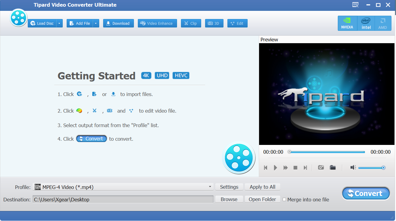 Tipard Video Converter Ultimate 9.2.12 - Convert Video Software Full
