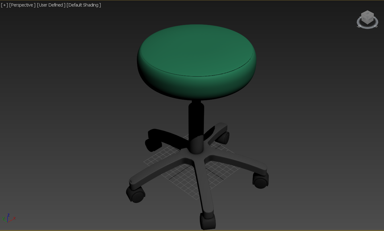 ExamStool - Medical Equipment Model 3D Download For Free