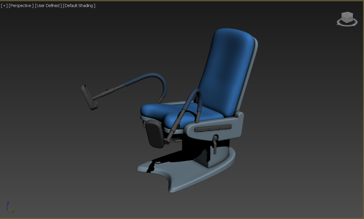 GynieChair - Medical Equipment Model 3D Download For Free