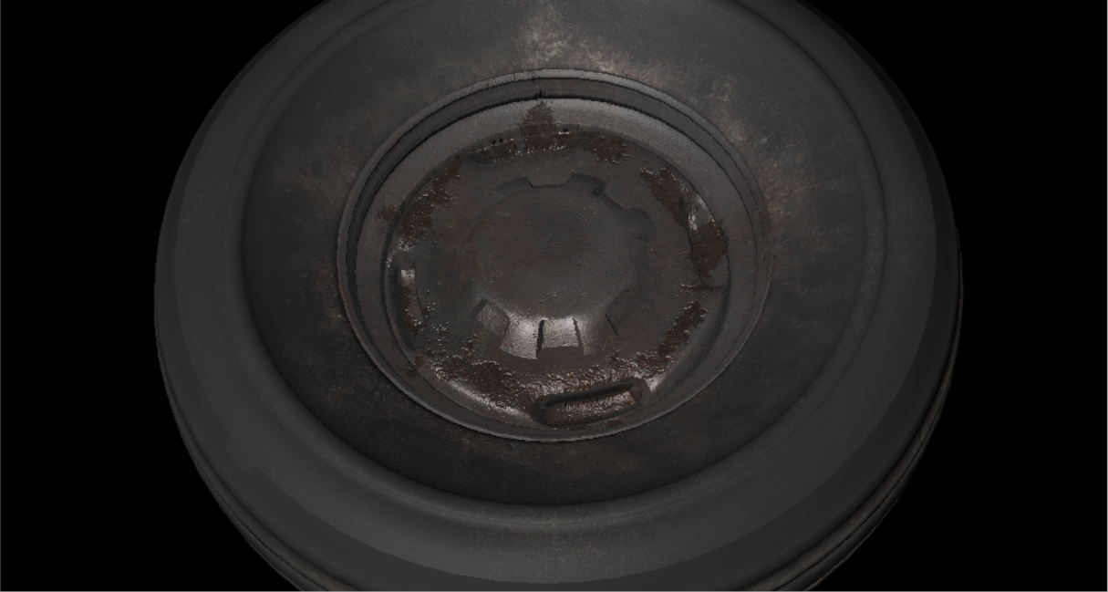 Tire - Industrial Objects Model 3D Download For Free