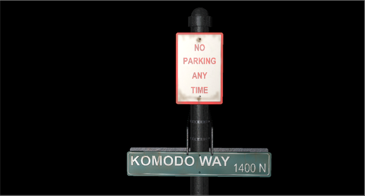 StreetSign - Industrial Objects Model 3D Download For Free
