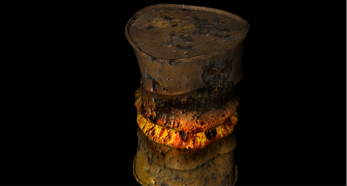 Oil Drums - Industrial Objects Model 3D Download For Free