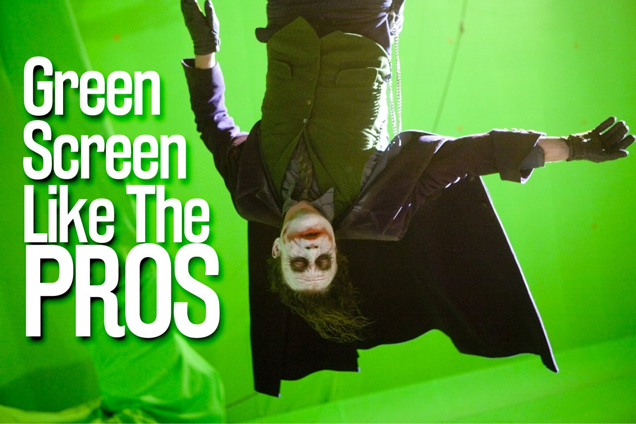 Green Screens Properly Lighting & Keying - After Effect Tutorials