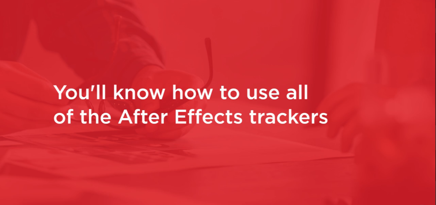After Effects CC Motion Tracking - After Effect Tutorials
