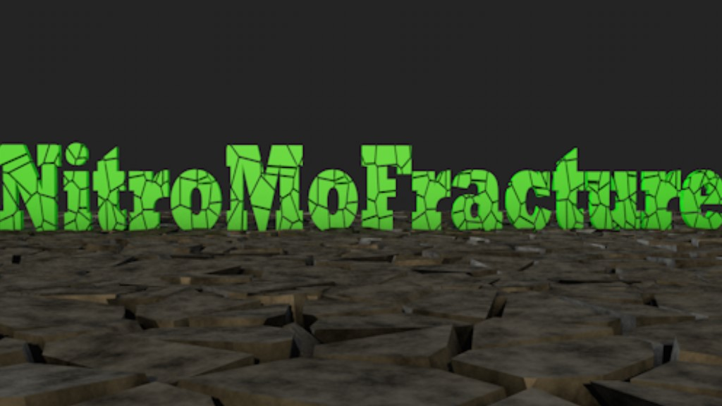 NitroMoFracture - Cinema 4D Plugin