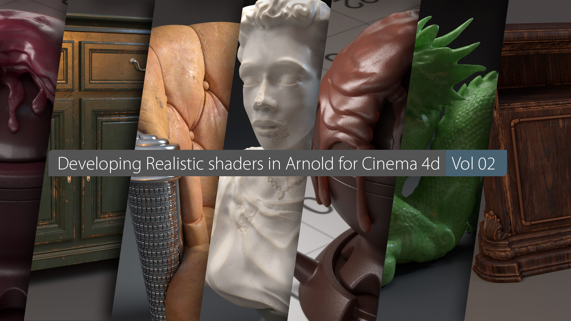 Developing Realistic Shaders In Arnold For Cinema 4D Vol 02 - Cinema 4D Tutorial