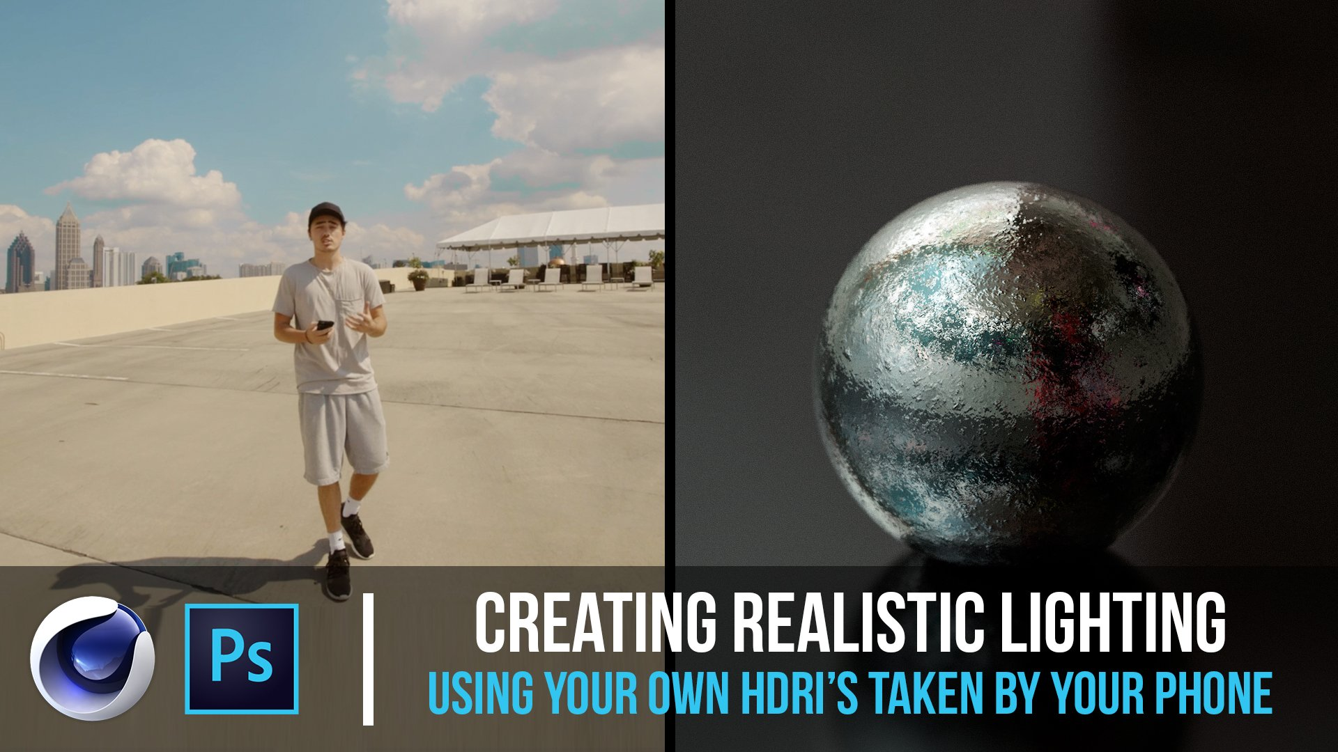 Creating Realistic Lighting Using Your Own HDRI's - Cinema 4D Tutorial