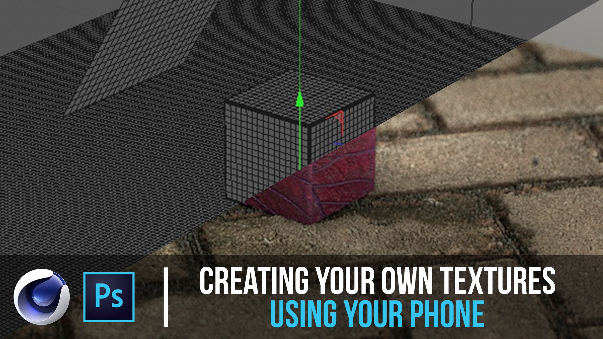 Create Realistic Textures For Cinema 4D Using your phone - Cinema 4D Tutorial