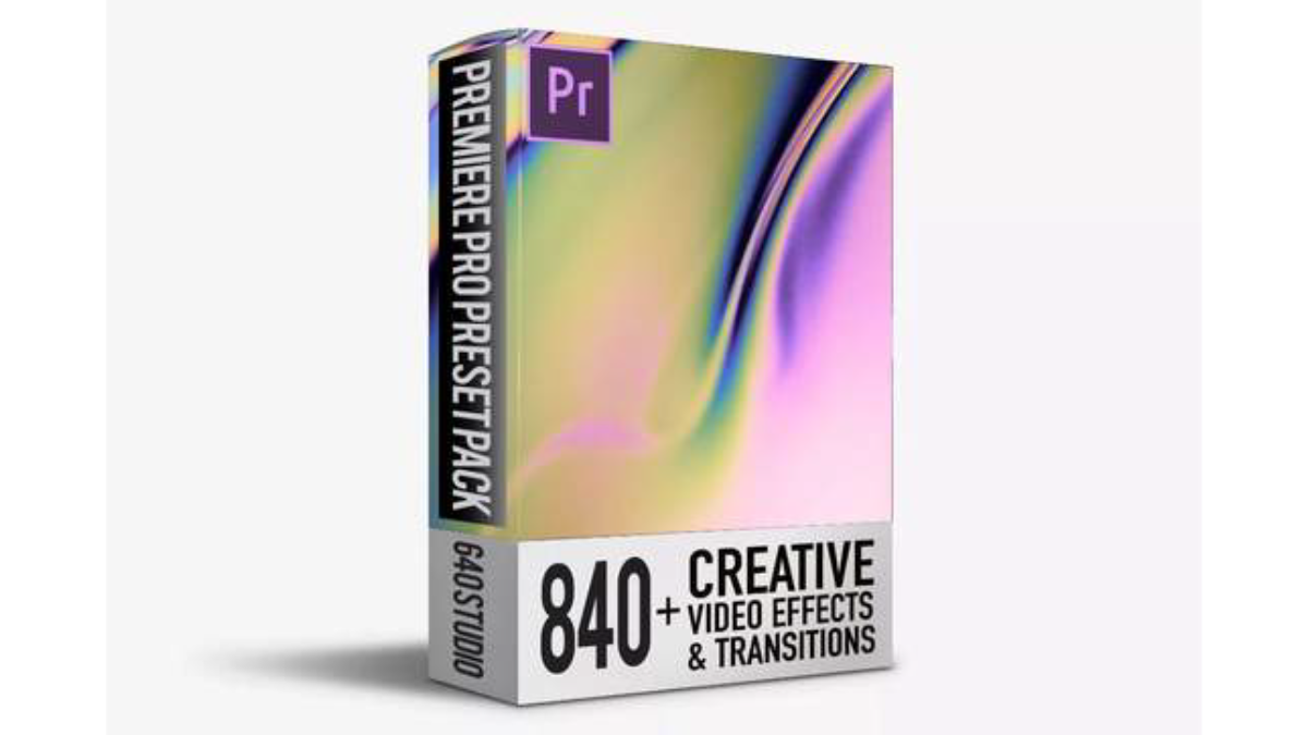 840 Transitions Video Editing Pack - Premiere Transition