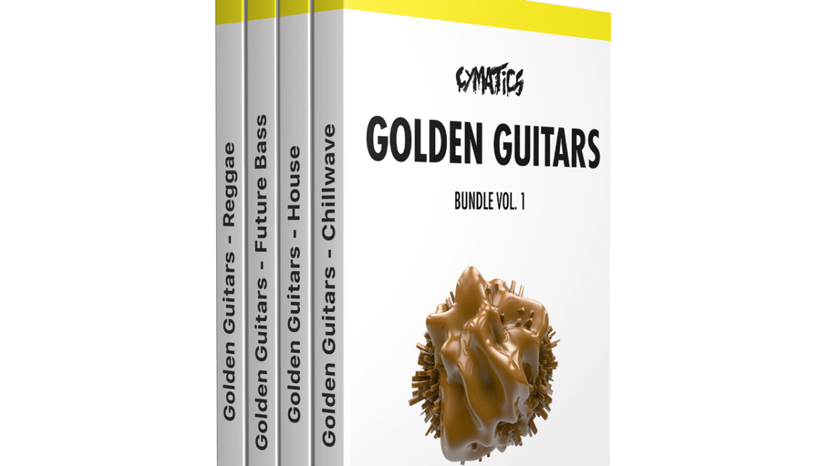 Cymatics - Golden Guitars Bundle - Sound Effects