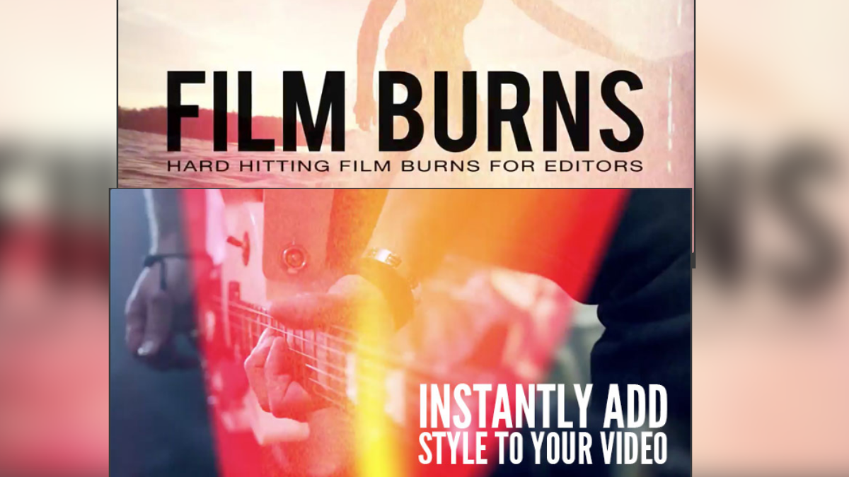 Rampant Design Tools - Designer Film Burns - Footage