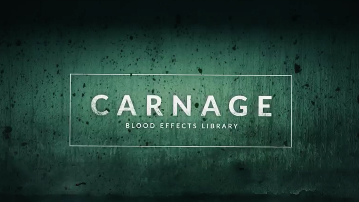 RocketStock - RS3023 - Carnage : 296 Blood Effects for Video - Footage