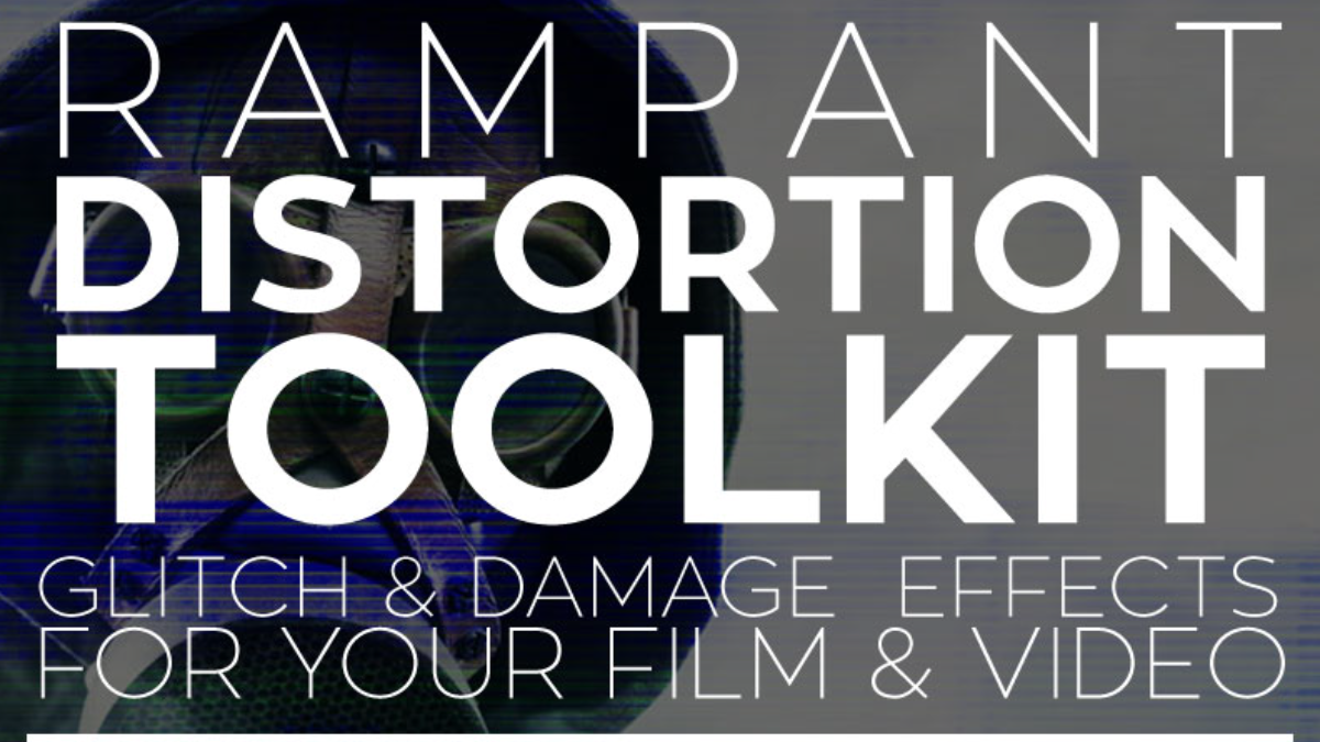 Rampant Design Tools - Distortion Toolkit - Footage