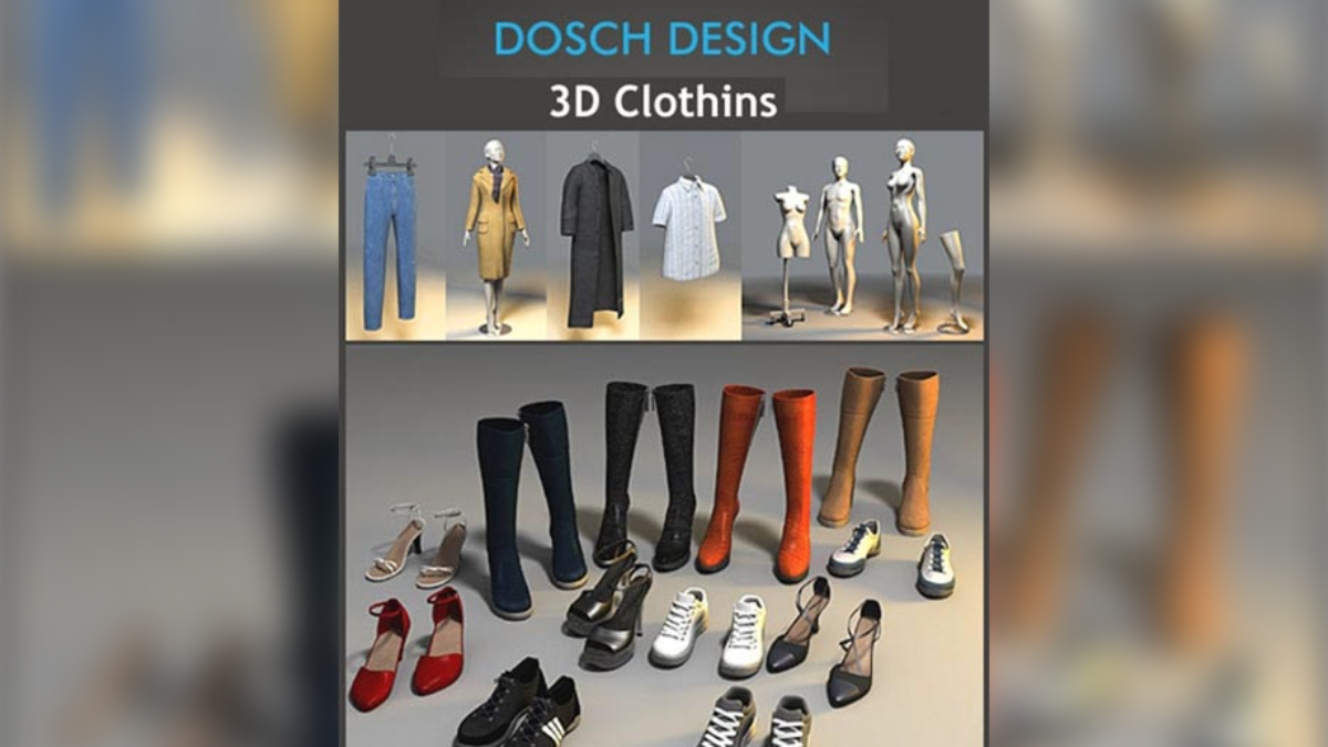 DOSCH 3D: Clothing - Model 3D Download For Free