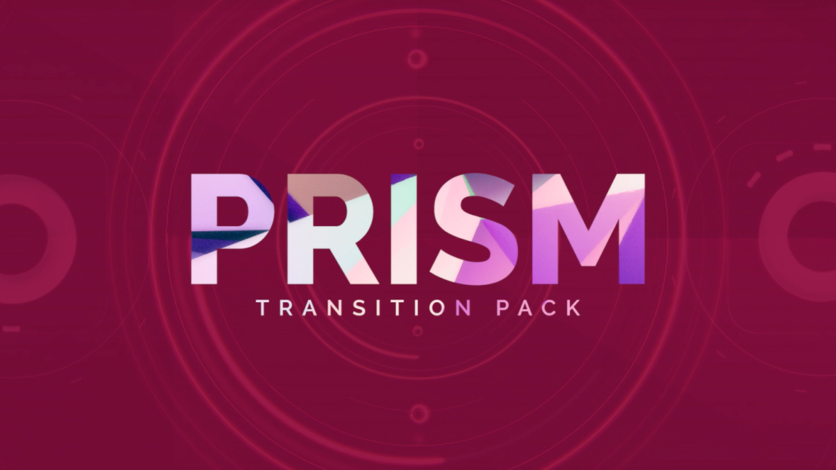 RocketStock - Prism - 200 High-Energy Transitions - Footage