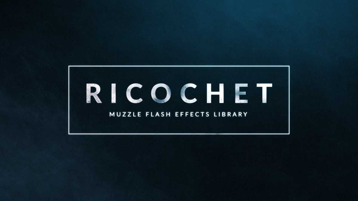 Ricochet - 450+ Muzzle Flash & Gun Smoke Effects - Footage