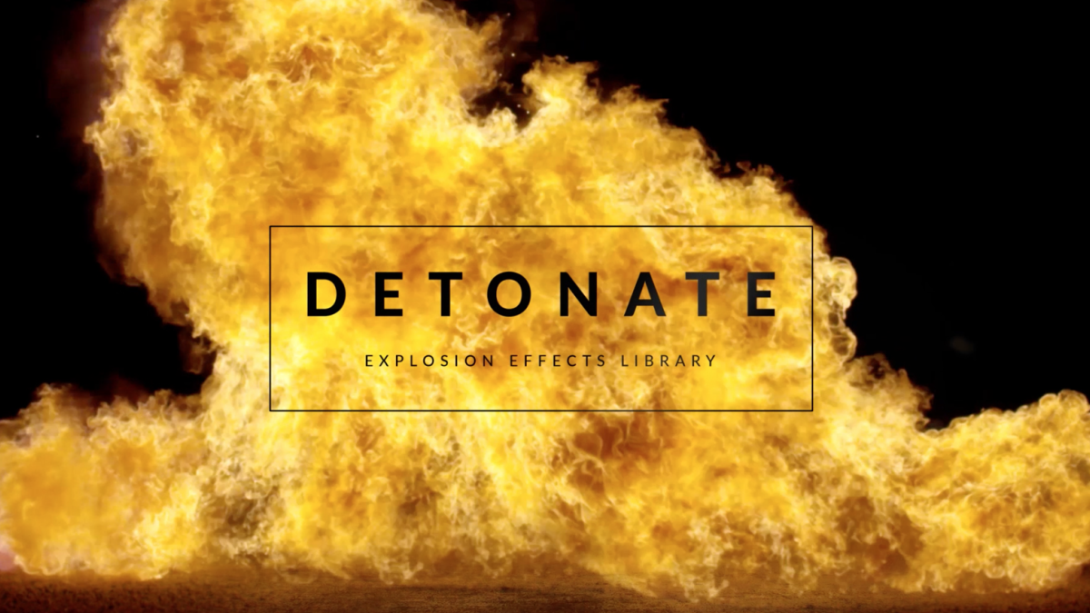 RocketStock - RS3019 - Detonate - 50+ Explosion Effects - Footage