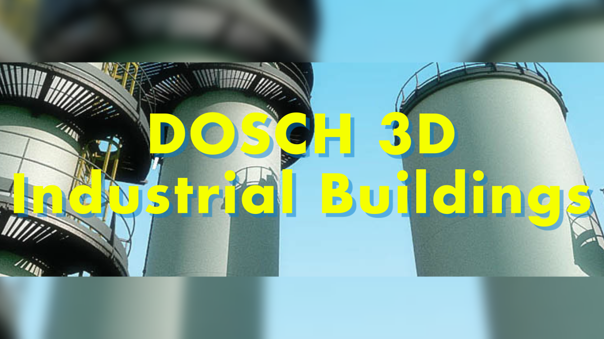 DOSCH 3D: Industrial Buildings - Model 3D Download For Free
