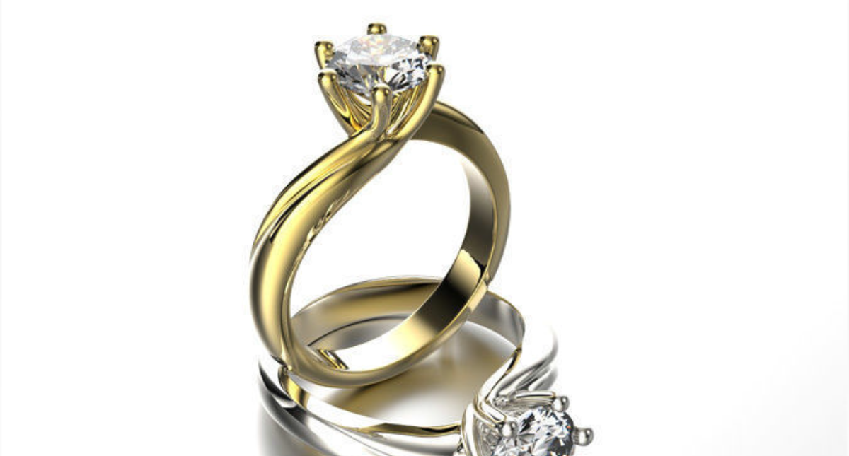 Engagement Ring - Model 3D Download For Free