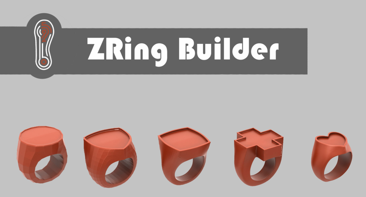 Zbrush Ring Builder 3D model - Model 3D Download For Free