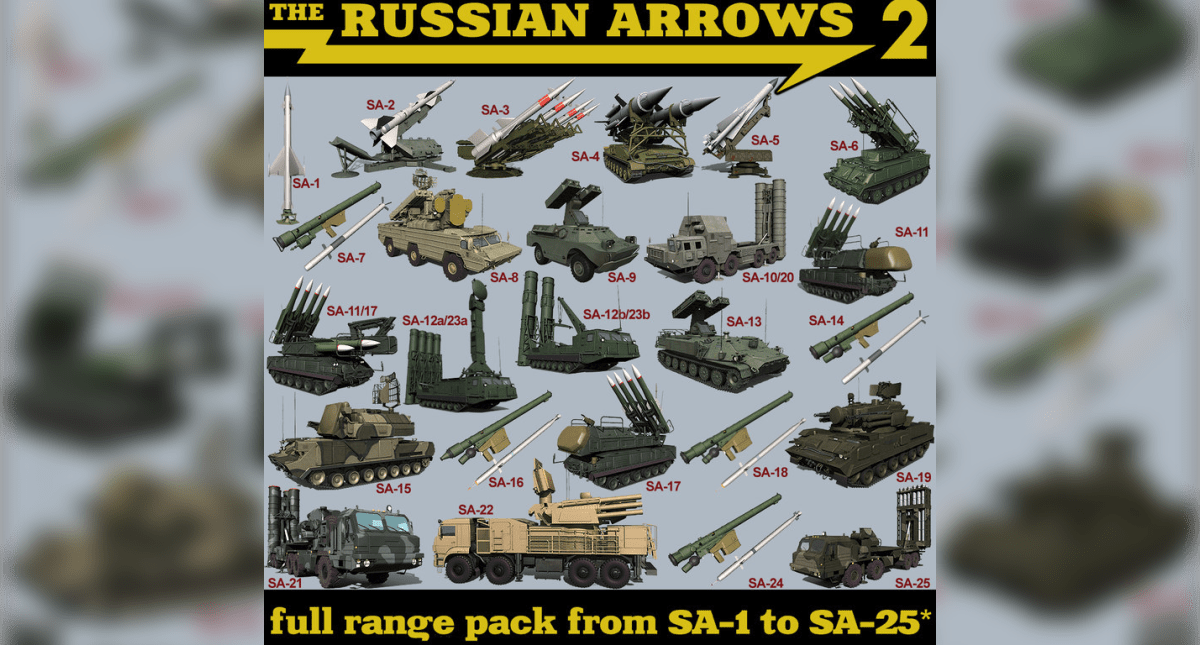 The Russian Arrows 2 - Model 3D Download For Free